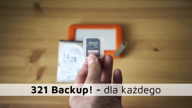 321 Backup! – dla każdego